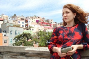 Elyse in Guanajuato where she conducts research with Las Libras, a human rights organization