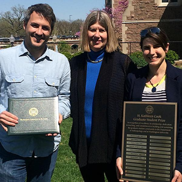 Bullion and Henry Receive Anthropology's Kathleen Cook Award
