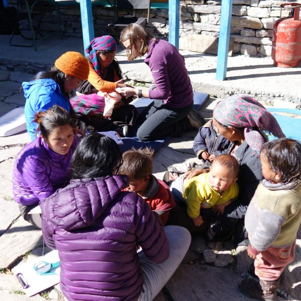 group of people in Nepal