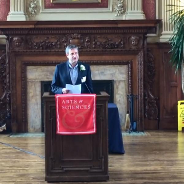 Geoff Childs receives David Hadas Teaching Award
