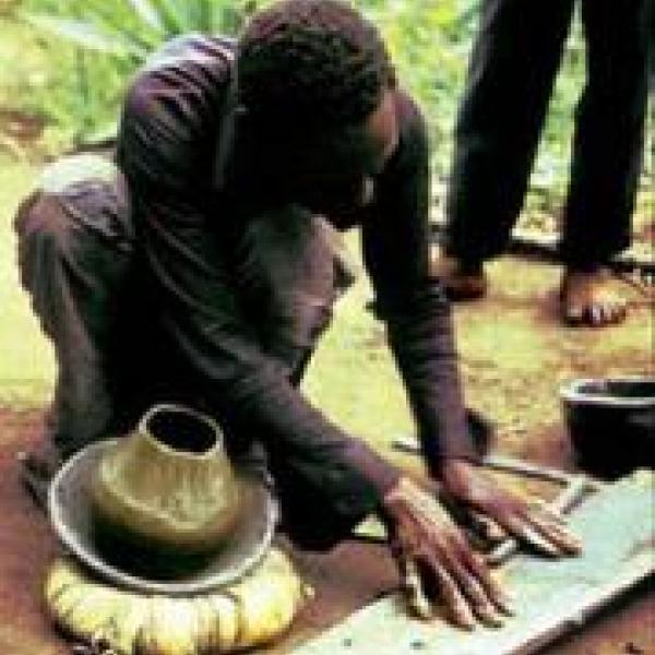 Ugandan Potter