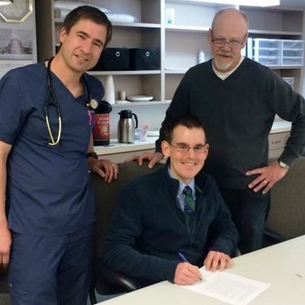 Recent alumnus and Medicine & Society Program participant, Scott Rempel, matched to rural medicine program