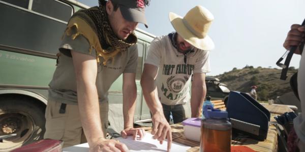 fieldwork in Uzbekistan
