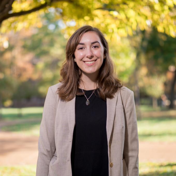 Headshot of Rachel Kuzma